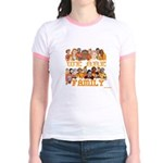 Jewish We Are Family Jr. Ringer T-Shirt