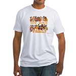 Jewish We Are Family Fitted T-Shirt