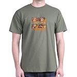 Jewish We Are Family Dark T-Shirt