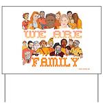 Jewish We Are Family Yard Sign
