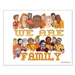Jewish We Are Family Small Poster