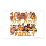 Jewish We Are Family Postcards (Package of 8)