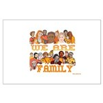 Jewish We Are Family Large Poster