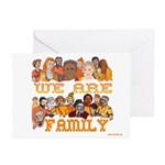 Jewish We Are Family Greeting Cards (Pk of 10)