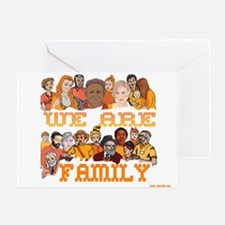Jewish We Are Family Greeting Card