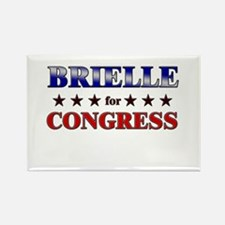 BRIELLE for congress Rectangle Magnet