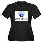 World's Greatest WOOD WITTLER Women's Plus Size V-
