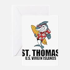 St. Thomas, U.S. Virgin Islands Greeting Cards