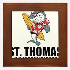 St. Thomas, U.S. Virgin Islands Framed Tile