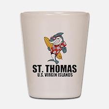 St. Thomas, U.S. Virgin Islands Shot Glass