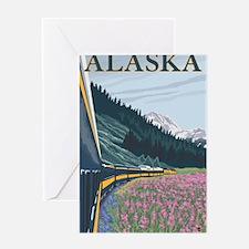 Alaska - Alaska Railroad Greeting Cards
