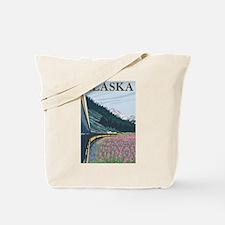 Alaska - Alaska Railroad Tote Bag