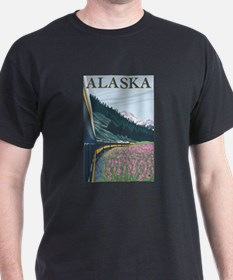 Alaska - Alaska Railroad T-Shirt