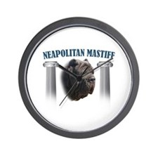 Neapolitan Mastiff Wall Clock