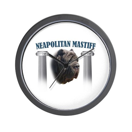 Neapolitan Mastiff Wall Clock