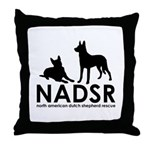 NADSR Classic Logo Throw Pillow