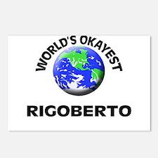 World's Okayest Rigoberto Postcards (Package of 8)
