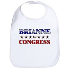 BRIANNE for congress Bib