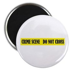 """Crime Scene 2.25"""" Magnet (10 pack)"""