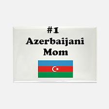 #1 Azerbaijani Mom Rectangle Magnet