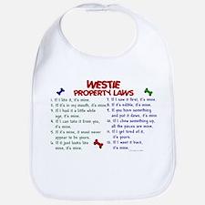 Westie Property Laws 2 Bib