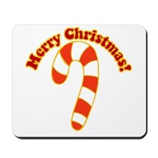 Christmas Candy Cane Festive Mousepad