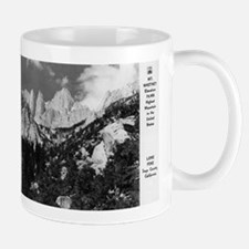 Lone Pine, CA - Mt. Whitney - Vintage Photo Mugs