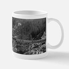 Plumas County, CA - Western Pacific Train Mugs