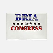 BRIA for congress Rectangle Magnet
