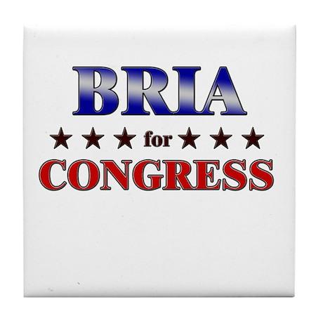 BRIA for congress Tile Coaster