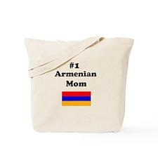 #1 Armenian Mom Tote Bag