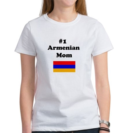 #1 Armenian Mom Women's T-Shirt