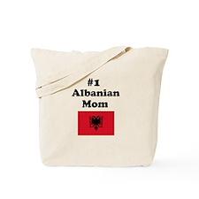 #1 Albanian Mom Tote Bag