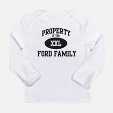 Property of Ford Family Long Sleeve T-Shirt