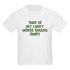 Lucky Horse Racing T-Shirt