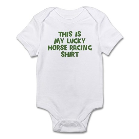Lucky Horse Racing Infant Bodysuit