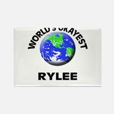World's Okayest Rylee Magnets
