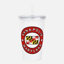 Annapolis Maryland Acrylic Double-wall Tumbler