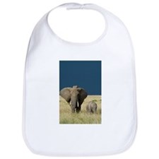 ELEPHANT MOTHER AND BABY Bib