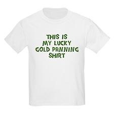 Lucky Gold Panning T-Shirt
