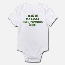 Lucky Gold Panning Infant Bodysuit