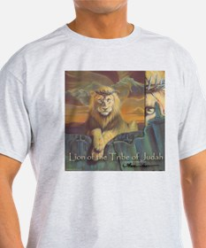 """Lion of Judah"" Fine Ar T-Shirt"