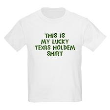 Lucky Texas Holdem T-Shirt