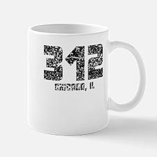 312 Chicago IL Area Code Mugs