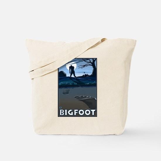 Big Foot Tote Bag