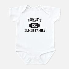 Property of Elmer Family  Infant Bodysuit