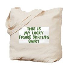 Lucky Figure Skating Tote Bag