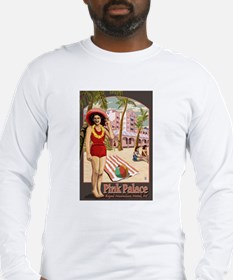 Hawaii - Royal Hawaiian Hotel Long Sleeve T-Shirt