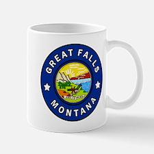 Great Falls Montana Mugs