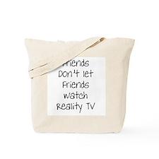 Anti-Reality TV Tote Bag